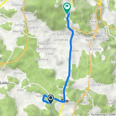 Ruta a Travesía Montouto, 26, Teo
