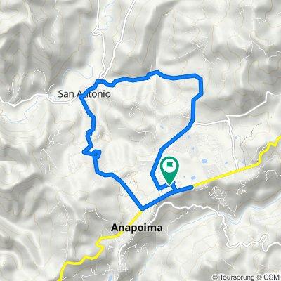 De Carrera 7 6 - 11, Anapoima a Carrera 7 6 - 11, Anapoima