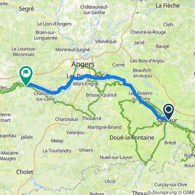 EV6 2021 ALLER 10 - Saumur Montjean