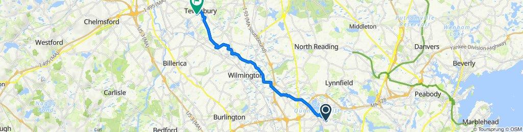 3 Bancroft Ave, Wakefield to 2–98 Pillsbury Ave, Tewksbury
