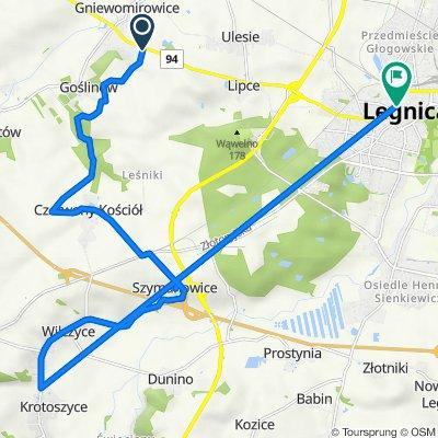 Gniewomirowice do Murarska 5B, Legnica