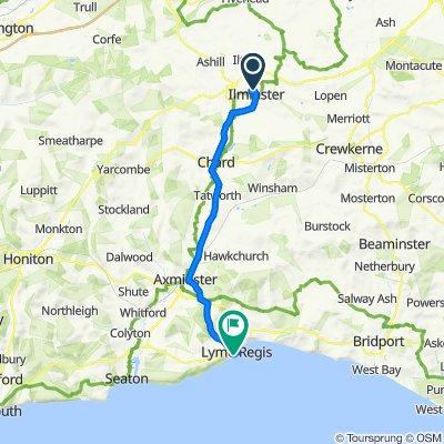 11 Highfield, Ilminster to 60–64 Marine Parade, Lyme Regis