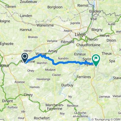 Zwalm-Luik - Etappe 4