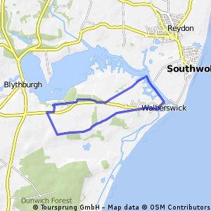 Walberswick Holiday Run