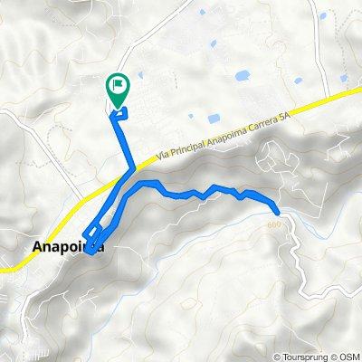De Calle 12 7464, Anapoima a Calle 12 7462, Anapoima