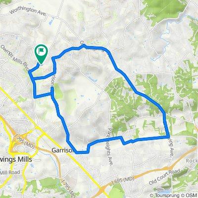 Sunday Ride Hillside