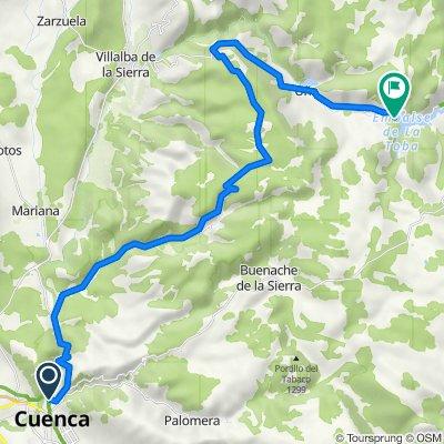 Ruta 28 : Serrania de Cuenca - etapa 1
