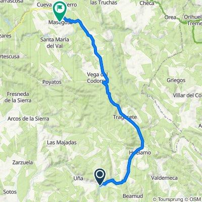 Ruta 29 : Serrania de Cuenca - etapa 2