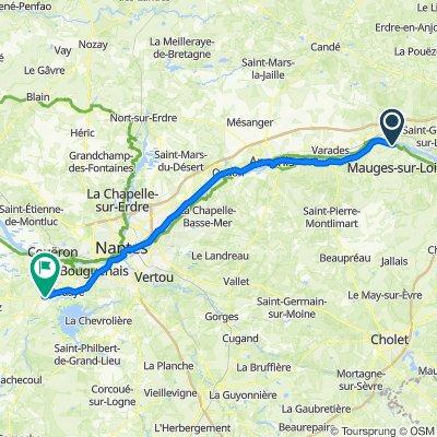 EV6 2021 ALLER 11 - Montjean Port ST Père