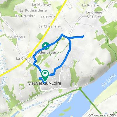 De 5 Rue du Cellier, Mauves-sur-Loire à 1ter Rue du Cellier, Mauves-sur-Loire