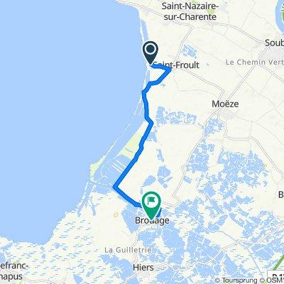 De Route des Claires, Saint-Froult à Rue du Port 18, Marennes-Hiers-Brouage