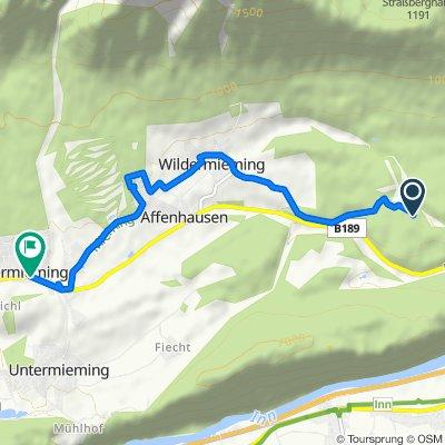 Route nach Obermieming 175a, Obermieming