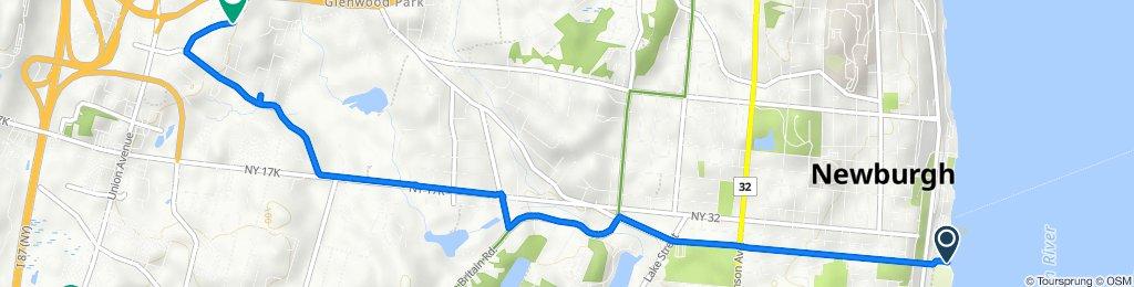 2–18 Washington St, Newburgh to 1101 Drake Dr, Newburgh
