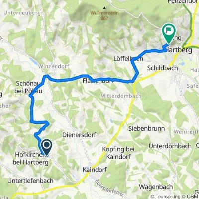Hofkirchen 241, Hofkirchen bei Hartberg nach Ring 48, Ring