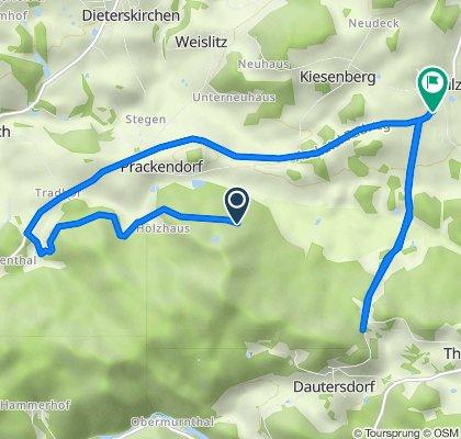 Unnamed Road, Dieterskirchen nach Neunburger Straße 15, Thanstein