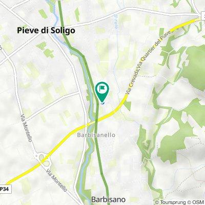 Da Via Campagna 27, Pieve di Soligo a Via Campagna 27, Pieve di Soligo