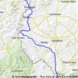 Day 5 - (Wed 3/8) Nr Mitchel Troy to Bucknell