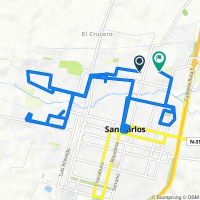 De Itihue 431, San Carlos a Héctor Herrea Herrera 659, San Carlos
