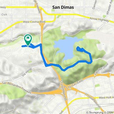 1002 Avenida Loma Vista, San Dimas to 1009 Avenida Loma Vista, San Dimas