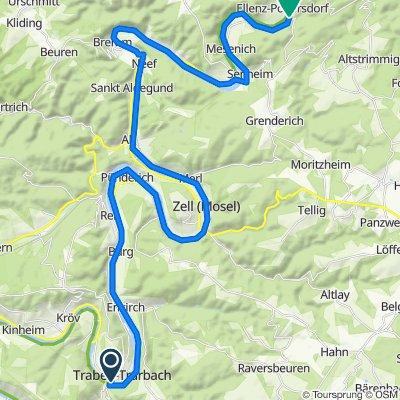 Rad&Wandern E4 TrabenTrabach-Beilstein(Cochem)