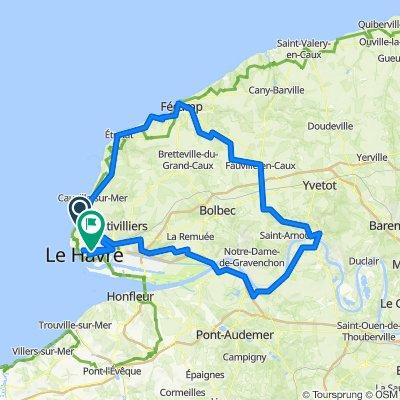 TDF 1. Etappe Le Havre - Le Havre
