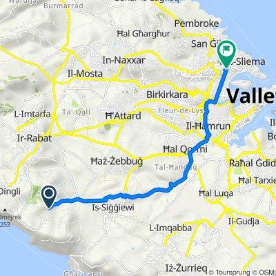 Limiti ta' l-Għajn il-Kbira, Siggiewi to 128, Sliema