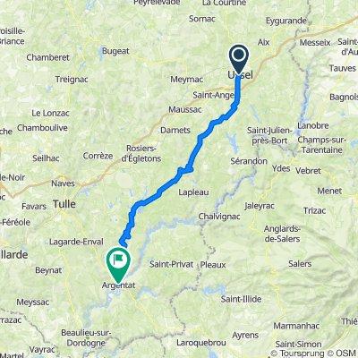 Tour du Limousin 1 (Ussel-Argentat)
