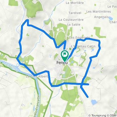 De 5 Rue de Champigné, Feneu à 5 Rue de Champigné, Feneu