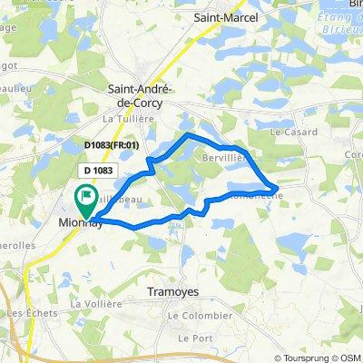 De 203 Chemin du Beau Logis, Mionnay à 203 Chemin du Beau Logis, Mionnay