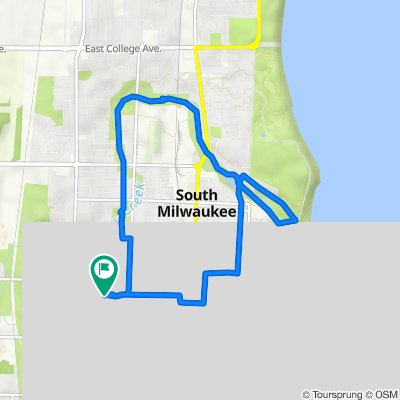 1631 Blake Ave, South Milwaukee to 1631 Blake Ave, South Milwaukee