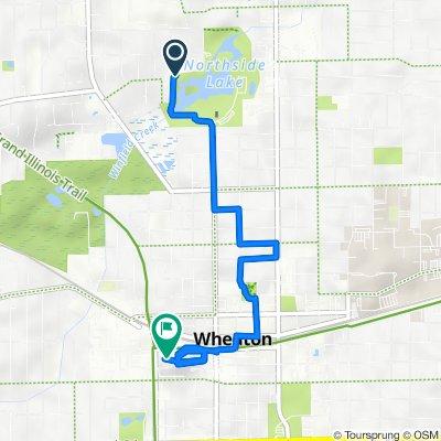 0N301–0N409 Ellis Ave, Wheaton to 3 Wheaton Center, Wheaton