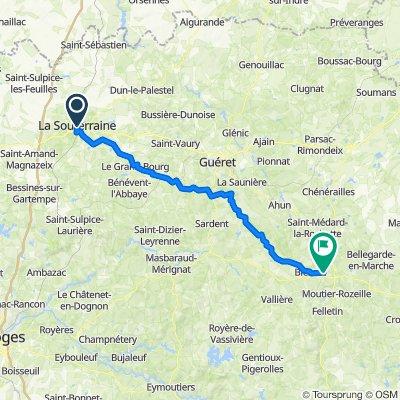 Tour du Limousin 6 (La Souterraine-Aubusson)