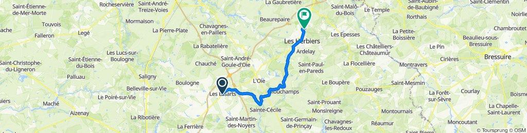 TDF 4. Etappe EZF Les Essarts - Les Herbiers (Mont des Alouettes)