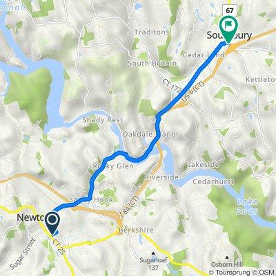 Lovells Lane 6, Newtown to U.S. 6 77, Southbury