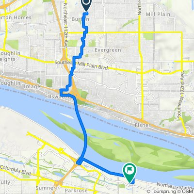 3218 NE 126th Ave, Vancouver to 5417 NE 148th Ave, Portland