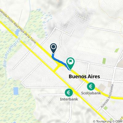 Del cruce .ppao a Metro, Nuevo Chimbote