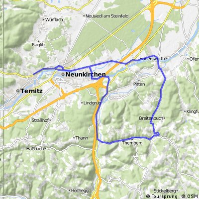 Ternitz - Bad Erlach - Bromberg - Scheiblinkirchen - Ternitz