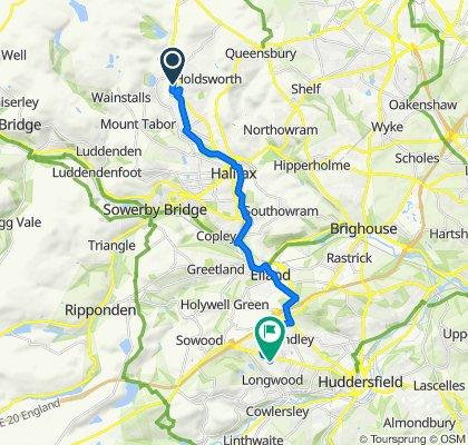 Heathmoor Park Road 140 to Huddersfield