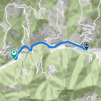 Da Borgata Ponterotto 1, Ranzo a Via Lorenzo Lucifredi, Borghetto d'Arroscia