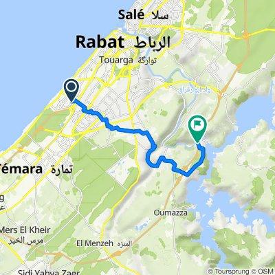 De Avenue Al Majd, Rabat à Rabat Grand Bypass
