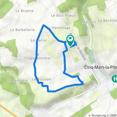 De 312 Rue des Rimonières, Cinq-Mars-la-Pile à 312 Rue des Rimonières, Cinq-Mars-la-Pile