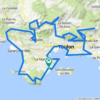Brevet des Grimpeurs Toulonnais - 8 Avril 21.