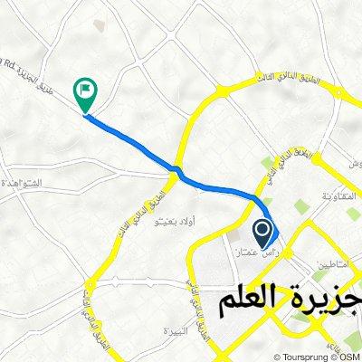 Route to Aljazera Road طريق الجزيزة, Misrata
