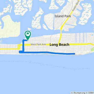 571 W Hudson St, Long Beach to 551–597 W Hudson St, Long Beach