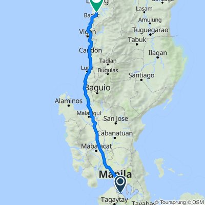Route to Batac - Banna Road