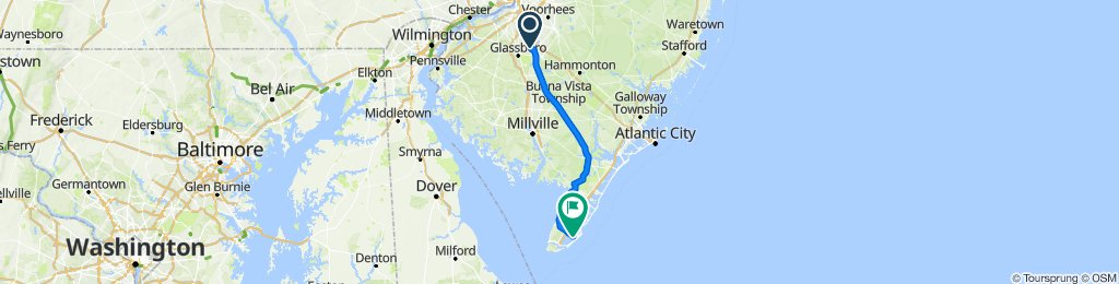 Sewell to Cape May