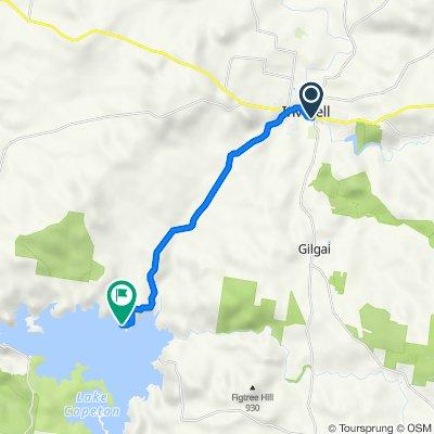 Inverell to Northern Foreshores Copeton Dam (Perfect for E-bike)