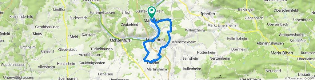 Marktsteft-Gnodstadt-Enheim-Obernbreit-Marktsteft