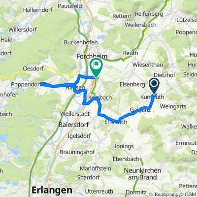 Hopfenleite 3, Kunreuth nach B470, Forchheim