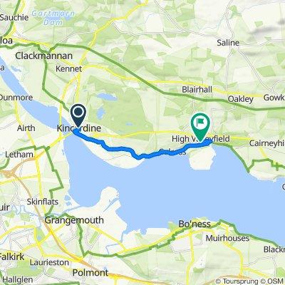 22-24 High St, Alloa to 63 Pentland Ter, Dunfermline